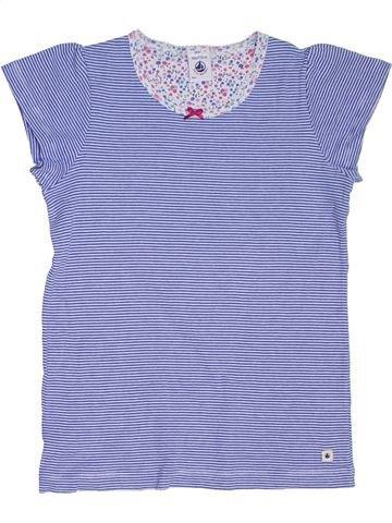 Camiseta de cuello alto niña PETIT BATEAU azul 8 años invierno #1275140_1
