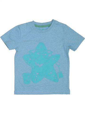 T-shirt manches courtes garçon TU bleu 3 ans été #1275452_1