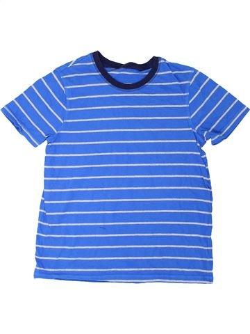 T-shirt manches courtes garçon GEORGE bleu 13 ans été #1275652_1
