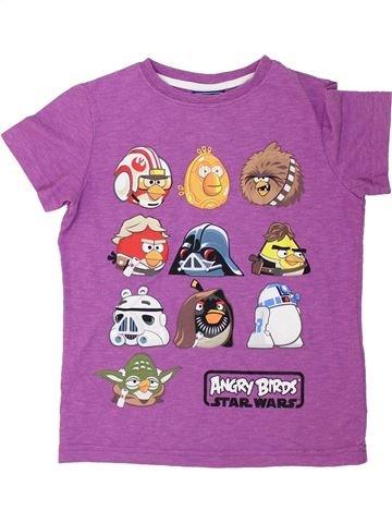 T-shirt manches courtes garçon NEXT violet 5 ans été #1275658_1