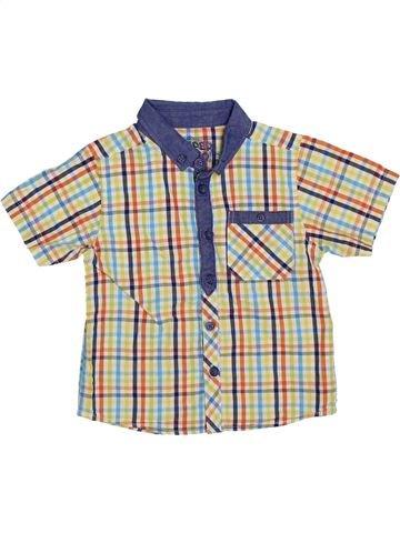 Chemise manches courtes garçon MATALAN blanc 2 ans été #1275769_1
