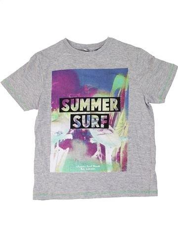 T-shirt manches courtes garçon MARKS & SPENCER gris 8 ans été #1275828_1