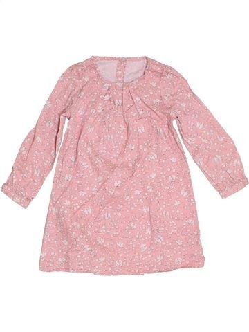 Vestido niña MOTHERCARE rosa 3 años invierno #1276280_1