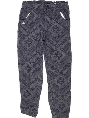 Pantalón niña H&M gris 11 años verano #1276294_1