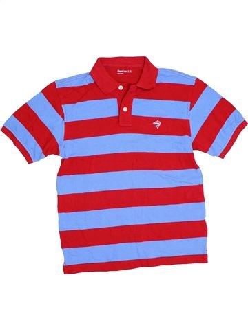 Polo manches courtes garçon GAP rouge 13 ans été #1276308_1