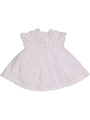 Vestido niña CLAYEUX blanco 3 meses verano #1276484_1