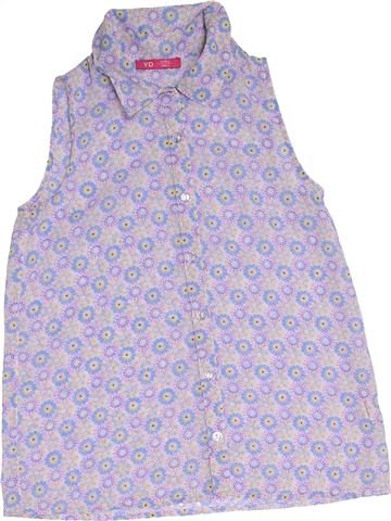 Blouse manches courtes fille PRIMARK violet 10 ans été #1276558_1