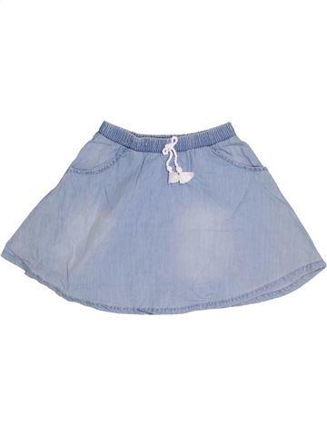Falda niña F&F azul 7 años verano #1276681_1