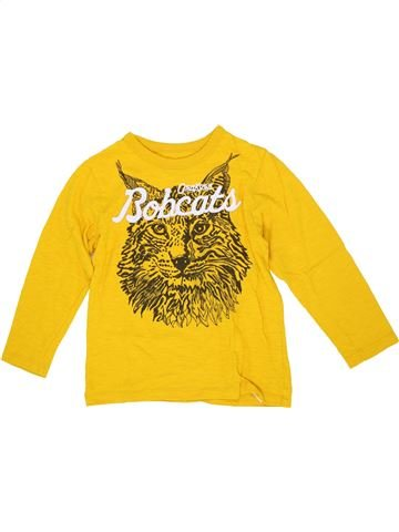 T-shirt manches longues garçon OSH KOCH B'GOSH jaune 5 ans hiver #1276713_1