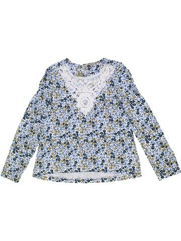 T-shirt manches longues fille TU gris 8 ans hiver #1276773_1