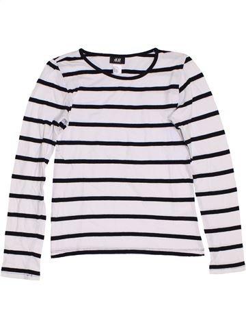 Camiseta de manga larga niña H&M negro 12 años invierno #1276902_1