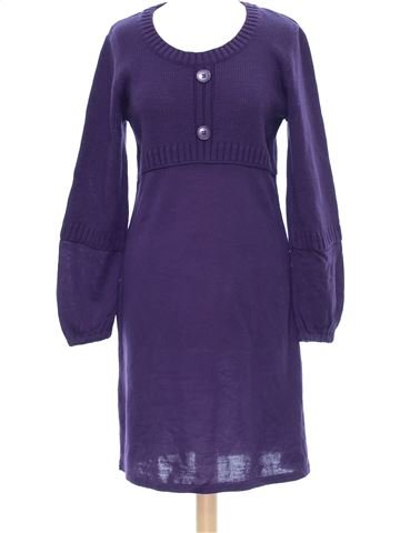 Robe femme BLANCHE PORTE 38 (M - T1) hiver #1277013_1