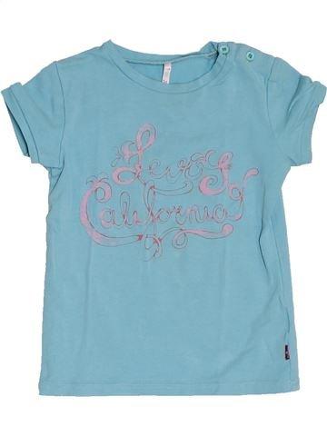 T-shirt manches courtes fille LEVI'S bleu 2 ans été #1278628_1