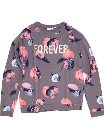 Sweat fille NAME IT gris 14 ans hiver #1278990_1