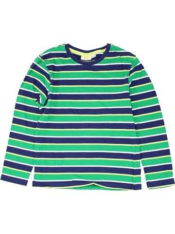 T-shirt manches longues garçon KIDS blanc 8 ans hiver #1279111_1