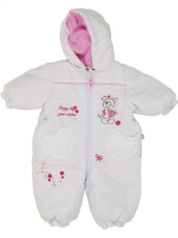 Mono-polar niña SANS MARQUE blanco 2 años invierno #1279445_1