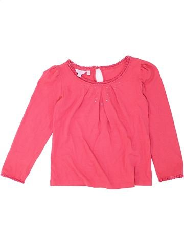 T-shirt manches longues fille MONSOON rose 10 ans hiver #1281993_1