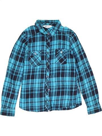 Blouse manches longues fille H&M bleu 12 ans hiver #1283491_1