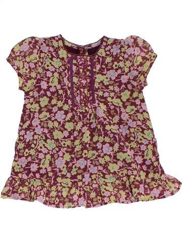 Blusa de manga corta niña MOTHERCARE violeta 4 años verano #1283742_1