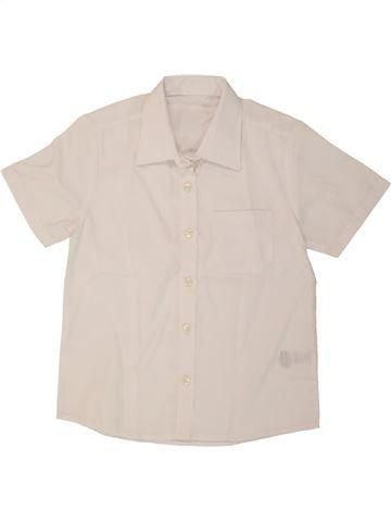 Blusa de manga corta niña SANS MARQUE azul 5 años verano #1283759_1