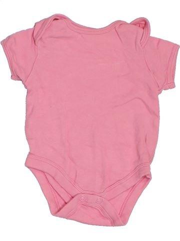 T-shirt manches courtes fille PEP&CO rose naissance été #1283929_1