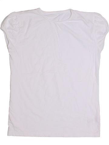 Camiseta de manga corta niña GEORGE blanco 15 años verano #1284121_1