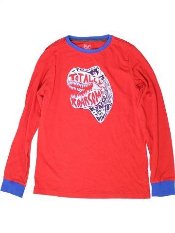 Camiseta de manga larga niño F&F rojo 13 años invierno #1284631_1
