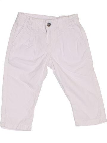 Pantalon fille TAPE À L'OEIL blanc 2 ans été #1284820_1