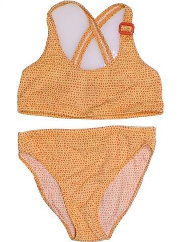 Bañador niña MARÈSE naranja 10 años verano #1284830_1