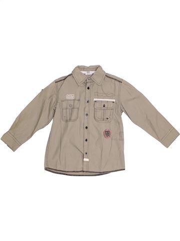 Camisa de manga larga niño VERTBAUDET gris 6 años invierno #1284905_1