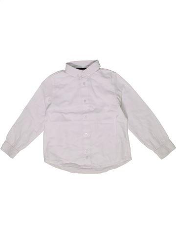 Chemise manches longues garçon SERGENT MAJOR blanc 5 ans hiver #1285069_1