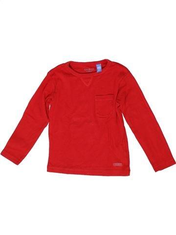 Camiseta de manga larga niño OKAIDI rojo 3 años invierno #1285308_1