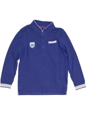 Polo manches longues garçon SERGENT MAJOR violet 7 ans hiver #1285543_1