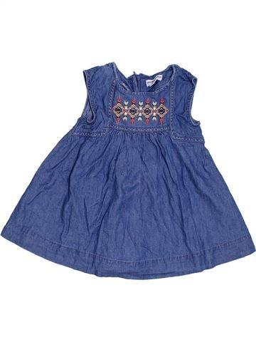 Vestido niña VERTBAUDET azul 2 años verano #1285566_1