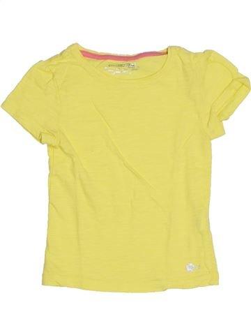 T-shirt manches courtes fille ORCHESTRA jaune 5 ans été #1285616_1