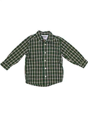 Chemise manches longues garçon OSH KOCH B'GOSH vert 3 ans hiver #1286241_1