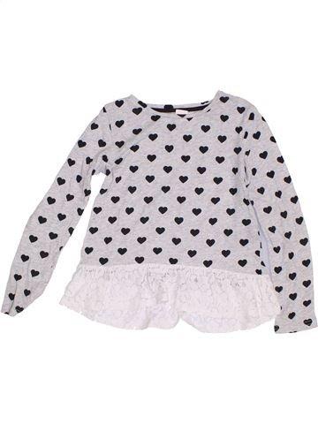 Camiseta de manga larga niña H&M blanco 8 años invierno #1286377_1