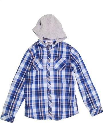 Chemise manches longues garçon BOYS gris 13 ans hiver #1286590_1