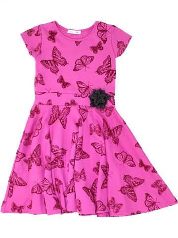 Robe fille M&CO rose 9 ans hiver #1286855_1