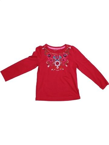 T-shirt manches longues fille MONSOON rouge 6 ans hiver #1286877_1
