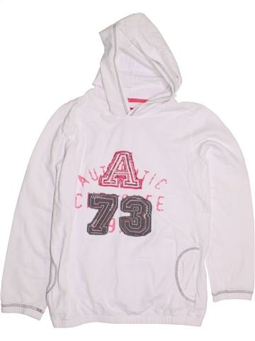 Sweat fille CHEROKEE blanc 14 ans hiver #1286943_1