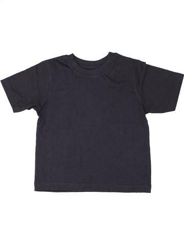 T-shirt manches courtes garçon SCHOOL LIFE bleu 5 ans été #1287114_1
