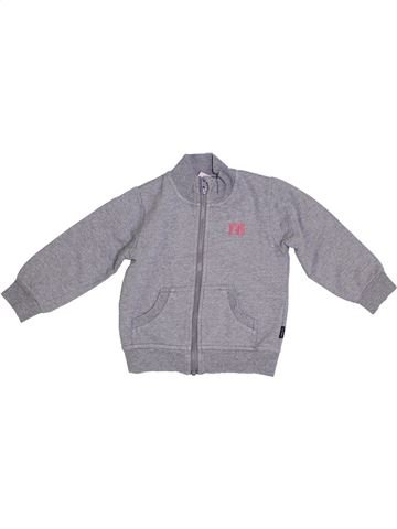 Sweat fille NAME IT gris 2 ans hiver #1287465_1