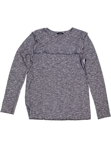 Pull fille GEORGE gris 13 ans hiver #1288375_1