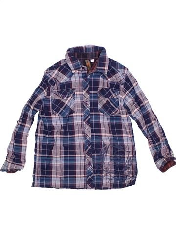 Chemise manches longues garçon URBAN 65 OUTLAWS bleu 11 ans hiver #1288669_1