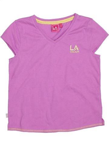 T-shirt manches courtes fille LA GEAR rose 12 ans été #1288776_1