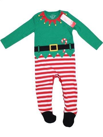 Pyjama 1 pièce garçon F&F vert 2 ans été #1288833_1