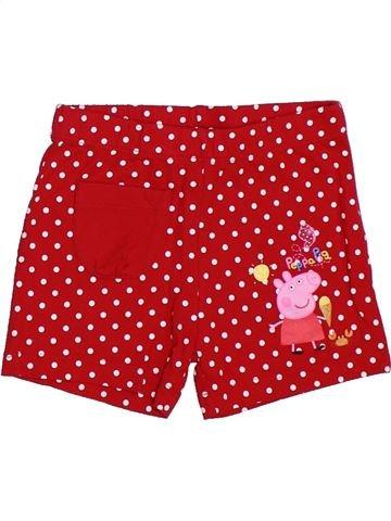 Short - Bermuda fille PEPPA PIG rouge 2 ans été #1289229_1
