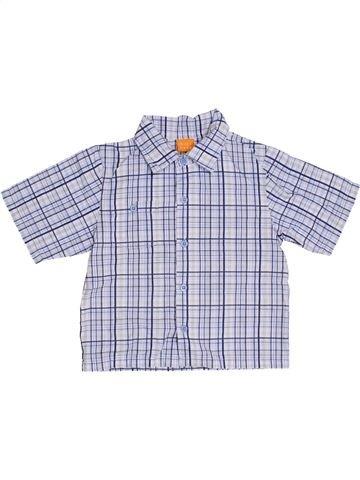 Chemise manches courtes garçon MINI MODE gris 4 ans été #1289580_1