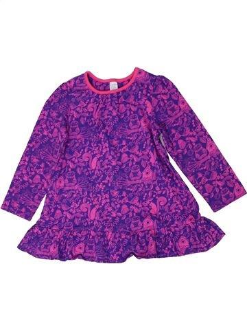 Tunique fille MINI CLUB violet 3 ans hiver #1289777_1